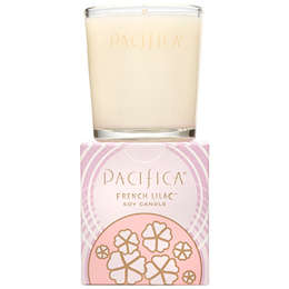 Pacifica Soy Candle French Lilac - 160g