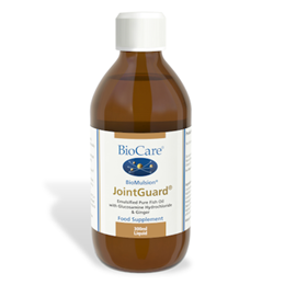 BioCare BioMulsion JointGuard Emulsified Pure Fish Oil with Glucosamine Hydrochloride & Ginger 300ml