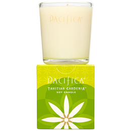 Pacifica Soy Candle Tahitian Gardenia - 160g