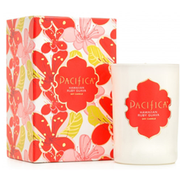 Pacifica Deluxe Edition Soy Candle Hawaiian Ruby Guava - 213g