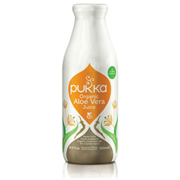 Pukka Aloe Vera Juice - 100% Organic Cold Pressed - 500ml