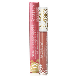 Pacifica Enlighten Mineral Lip Gloss Nudist - 2.8g