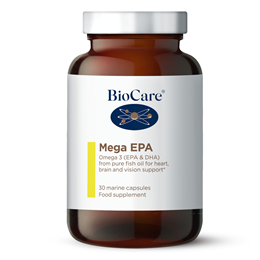 BioCare Mega EPA - Omega 3 from Pure Fish Oil - 30 Marine Caps