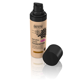 lavera Natural Liquid Foundation - Honey Beige 04 - 30ml
