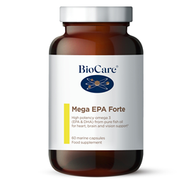 BioCare Mega EPA - Omega 3 from Pure Fish Oil - 60 Marine Caps