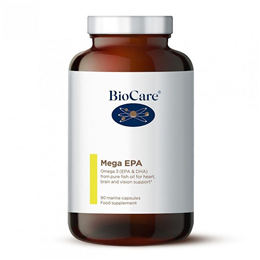 BioCare Mega EPA - Omega 3 from Pure Fish Oil - 90 Marine Caps