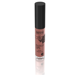 lavera Glossy Lips - Hazel Nude 12 - 6.5ml  - Best before date is 30th November 2016