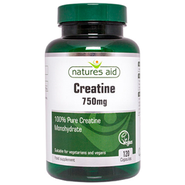 Natures Aid Creatine - 750mg - 120 Capsules