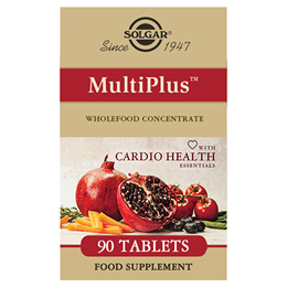 Solgar MultiPlus with Cardio Health Essentials - 90 Tablets