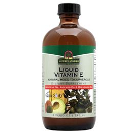 Nature`s Answer Liquid Vitamin E - Natural Mixed Tocopherols - 240ml