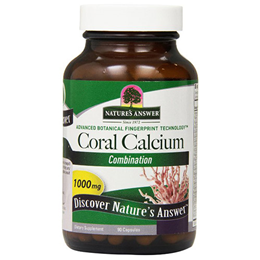 Nature`s Answer Coral Calcium - 90 Capsules