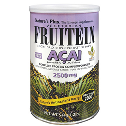 Nature`s Plus Fruitein Acai Shake - 544g