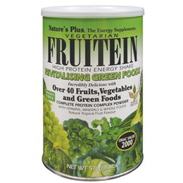 Nature`s Plus Fruitein Revitalising Green Foods - 576g