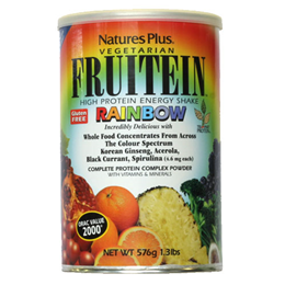Natures Plus Fruitein Rainbow Shake - 576g