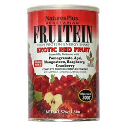 Natures Plus Fruitein Exotic Red Fruits Shake - 576g
