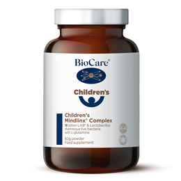BioCare Children`s Mindlinx - High Potency Live Bacteria - 60g Powder