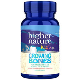 Higher Nature Kids Growing Bones - 30 Tablets
