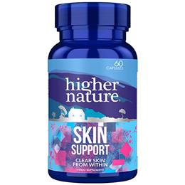 Higher Nature Young Adults Skin Support - 60 Capsules