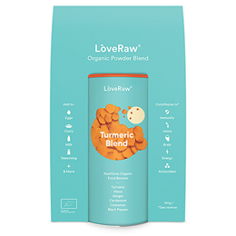 LoveRaw Turmeric Blend Organic Food Booster Blend - 150g