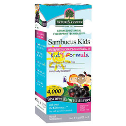 Nature`s Answer Sambucus Kid`s Formula - 120ml