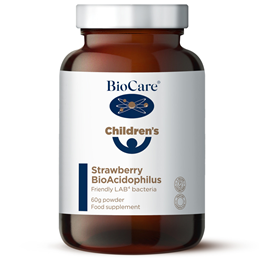 BioCare Children`s Strawberry Bio- Acidophilus - 60g Powder