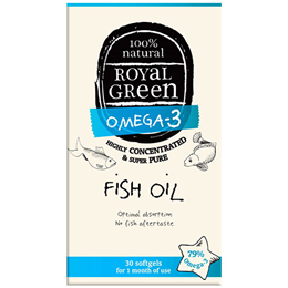 Royal Green Omega-3 Fish Oil - 30 Softgels