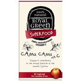 Royal Green Camu Camu Vitamin C - 60 Vegicaps