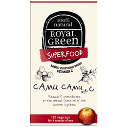 Royal Green Superfood Camu Camu Vitamin C - 120 Vegicaps