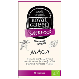 Royal Green Superfood Maca - 500mg x 60 Vegicaps
