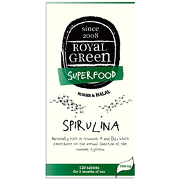 Royal Green Superfood Spirulina - 1000mg x 120 Tablets