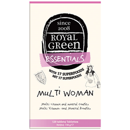 Royal Green Multi Woman - Vitamin and Mineral Complex - 120 Tablets
