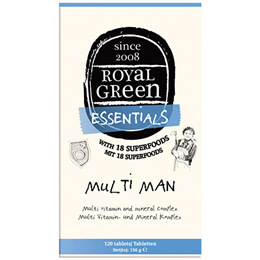 Royal Green Multi Man - Multi Vitamin and Mineral Complex - 120 Tablets