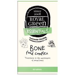 Royal Green Essentials - Bone Food Complex - 60 Tablets