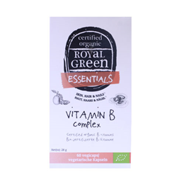 Royal Green - Essentials - Vitamin B Complex - 60 Capsules