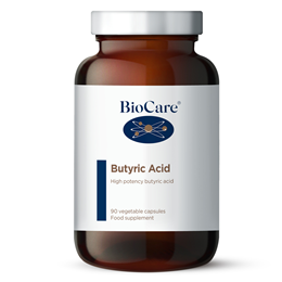 BioCare Butyric Acid Complex with Calcium- 90 x 605mg Vegicaps