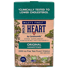 Wiley`s Finest Bold Heart by Cardiosmile - 30 Liquid Stick Packs