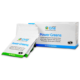 One Nutrition Power Greens - 20 x 3g Sachets  - Best before date is 18th November 2016