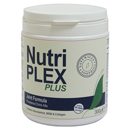 NutriPLEX Plus Joint Formula Powdered Drink Mix - 300g  - Best before date is 30th November 2016