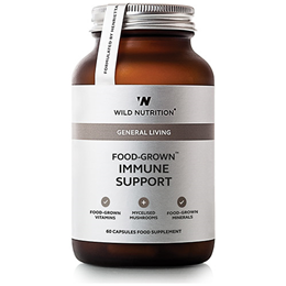 Wild Nutrition Food-Grown Immune Support - 60 Capsules