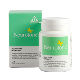 Bio Health Neurotone - Natural Stress Relief - 60 Tablets