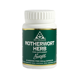Bio Health Motherwort Herb - Additive Free - 60 x 350mg Vegicaps