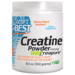 Doctors Best Creatine Powder featuring Creapure - 300g