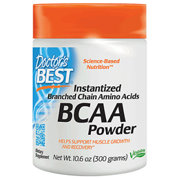 Doctors Best Instantized Branch Chain Amino Acids Powder - 300g - Best before date is 31st January 2018