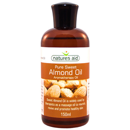 Natures Aid Pure Sweet Almond Oil - 150ml