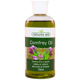 Natures Aid Comfrey Oil - Natural Rubbing Oil - 150ml