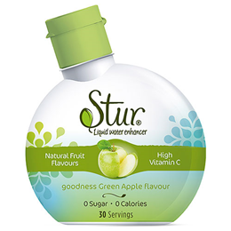 Stur Goodness Green Apple - Liquid Water Enhancer - 30 Servings