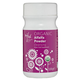 Hesh Organic Alfalfa Powder - Cleansing - 100g