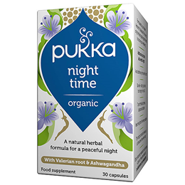 Pukka Organic Night Time - Herbal Blend - 30 Vegicaps