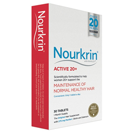 Nourkrin Active 20+ - For Hair Maintenance - 30 Tablets