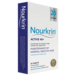 Nourkrin Active 45+ - For Hair Maintenance - 30 Tablets